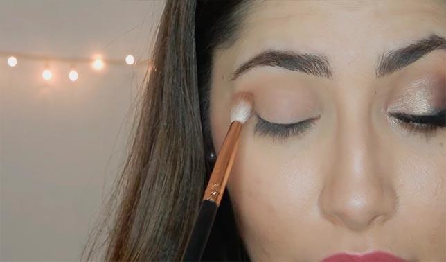 como maquillarse los ojos sombra